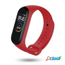 Unotec smartband 6 pulsera de actividad roja