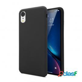 Unotec soft funda negra para iphone xr