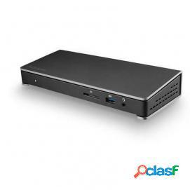 Startech dock thunderbolt 3 para pantalla doble 4k 60hz y 6 puertos usb 3.0