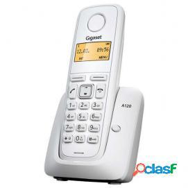 Teléfono inalámbrico siemens gigaset a120 blanco