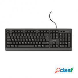 Trust tk-152 silent teclado usb negro