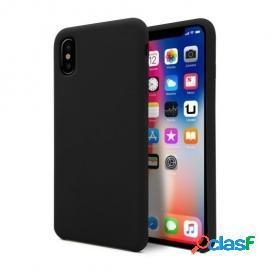 Unotec soft funda negra para iphone x/xs
