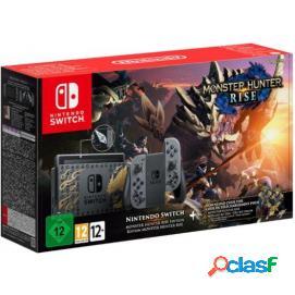 Nintendo Switch Monster Hunter Rise Edición Limitada Gris