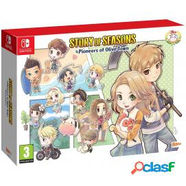 Story of seasons: pioneers of olive town edición deluxe nintendo switch