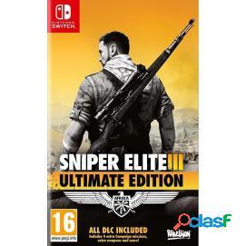 Sniper elite 3: edición ultimate nintendo switch