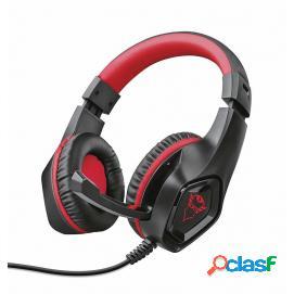 Trust gxt 404r rana auriculares gaming nintendo switch rojo