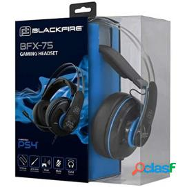 Auriculares gaming blackfire bfx-75 ps4