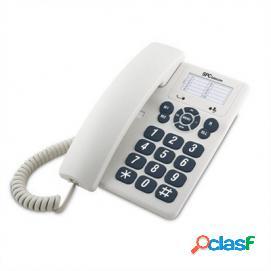 Teléfono fijo spc original blanco