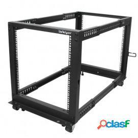 Startech rack de marco abierto con profundidad ajustable