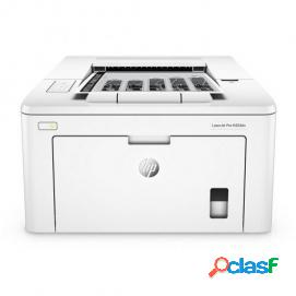 Hp laserjet pro m203dn impresora láser monocromo dúplex blanca