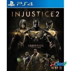 Injustice 2 edición legendaria ps4