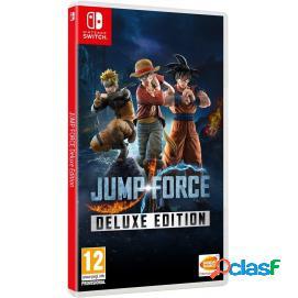 Jump force edición deluxe nintendo switch