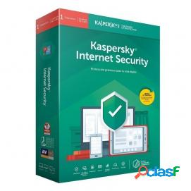 Kaspersky internet security 2019 1 dispositivo 1 año