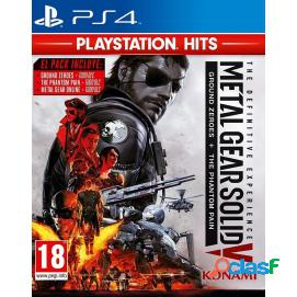 Metal gear solid - definitive edition hits ps4