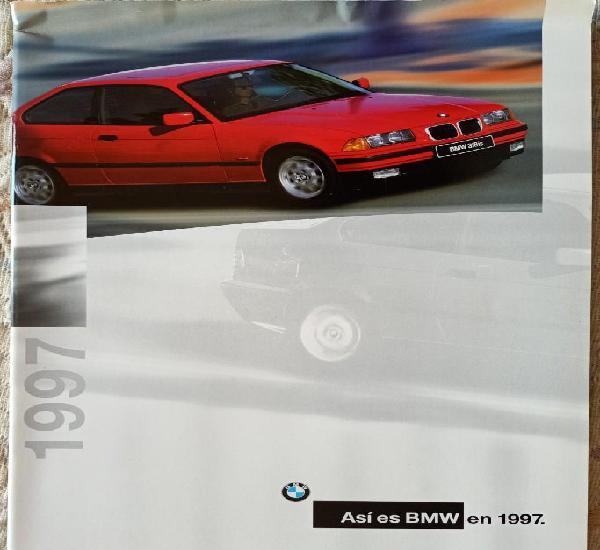 Catálogo bmw gama 1997. en español *