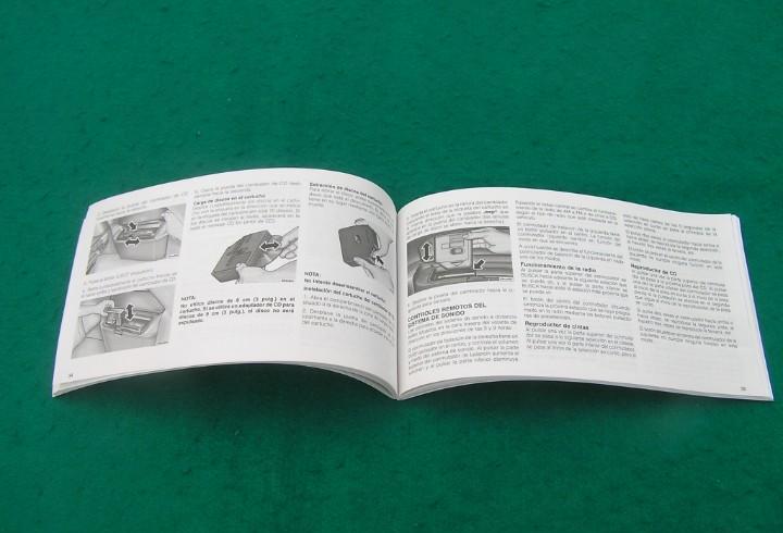 Manual de instrucciones para sistema de audio vehículos
