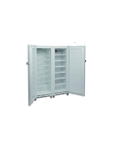 Armario snack mixto blanco refrigerado/congelados side by