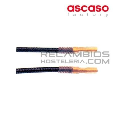 Cable encendido sit l 800mm faston 24mm