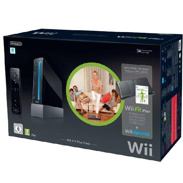 Consola nintendo wii + wii fit plus