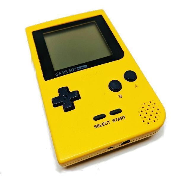 Consola portable nintendo gameboy pocket
