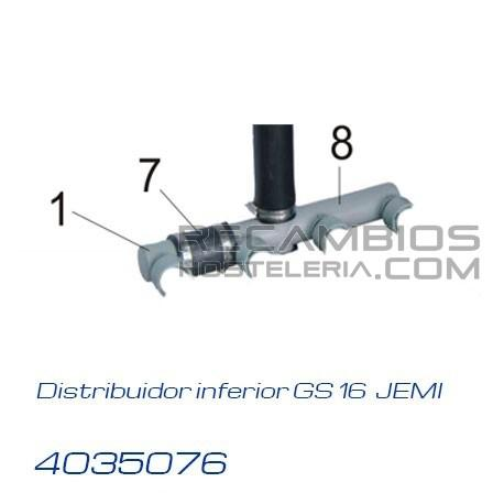 Distribuidor inferior gs 16 jemi