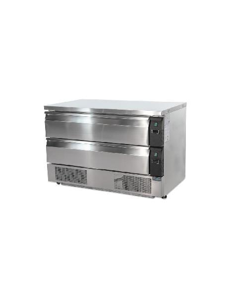 Mostradores refrigeracion/congelación 2 cajón 3xgn1/1