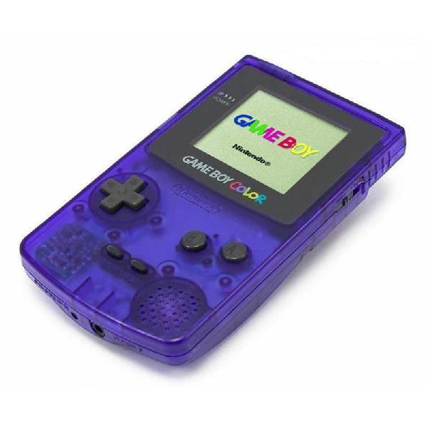 Nintendo game boy color edición limitada midnight blue