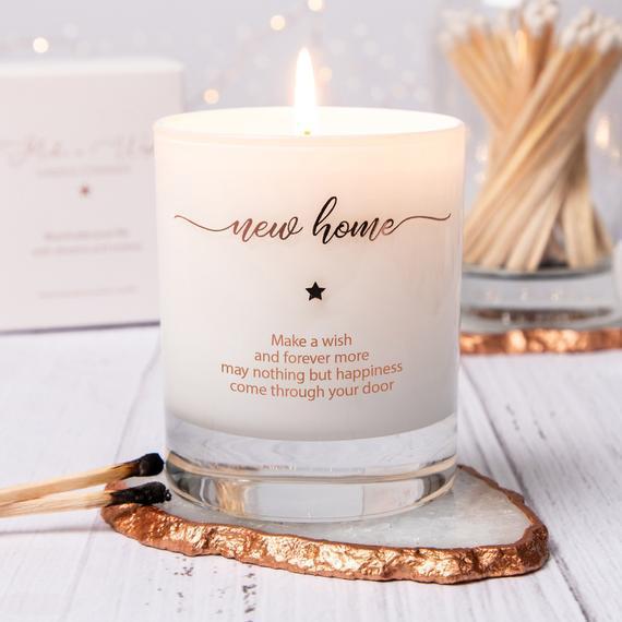 Nueva vela de hogar, vela perfumada, nuevo regalo del hogar,
