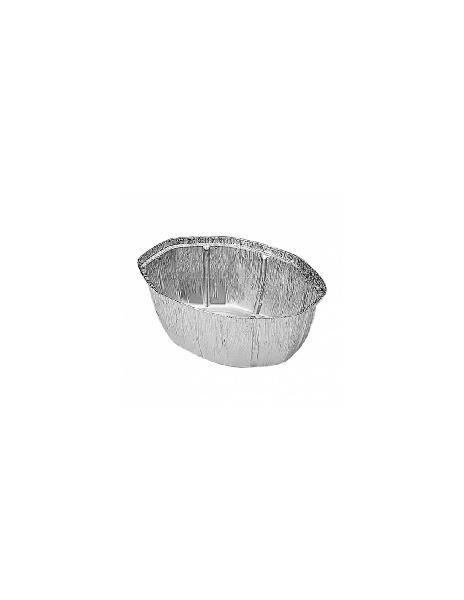 Pack 100 uds recipiente aluminio para pollo grande