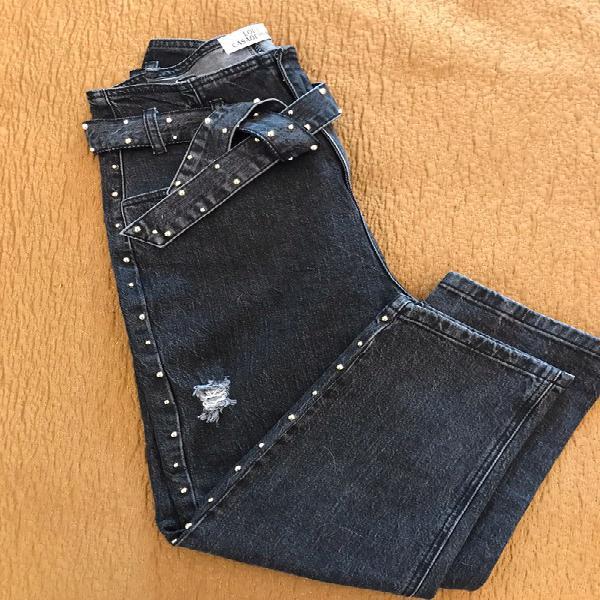 High waist stretch jeans