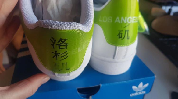 Adidas superstar originales coleccion los angeles