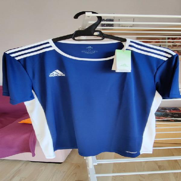 Camiseta técnica adidas azul oscuro talla m