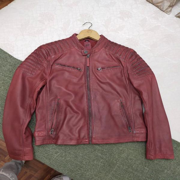 Cazadora de piel hombre gipsy precio original 150