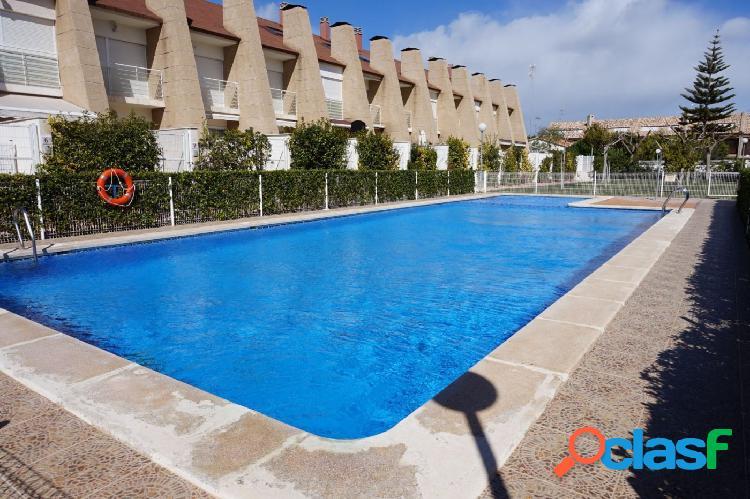 Adosado 3 dormitorios con terraza privada en playa de Sagunto 1