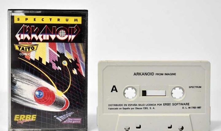 Arkanoid. juego sinclair zx spectrum