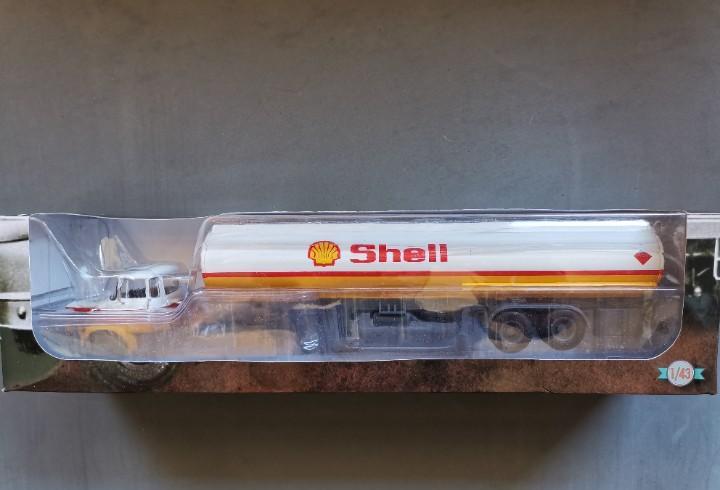 Camion articulado, berliet tlr 12 (cisterna shell)