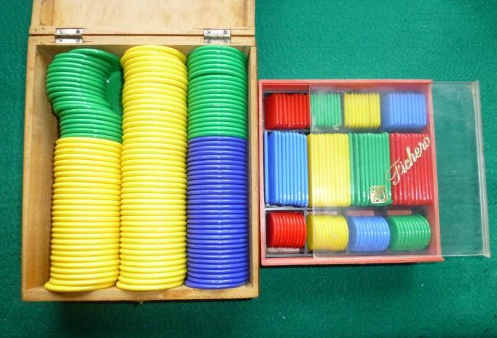 Fichas de juegos de colores