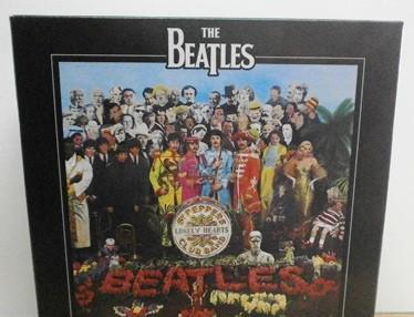 High quality puzzle the beatles. clemontini. juegomesa-32.