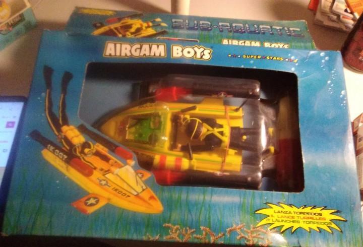 Hombre rana airgamboys airgam boys super stars sub-aquatic.