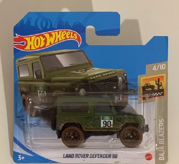 Land rover defender 90 - hot wheels 1:64