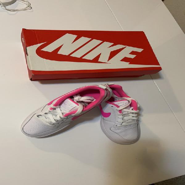 Nike blanca/rosa mujer