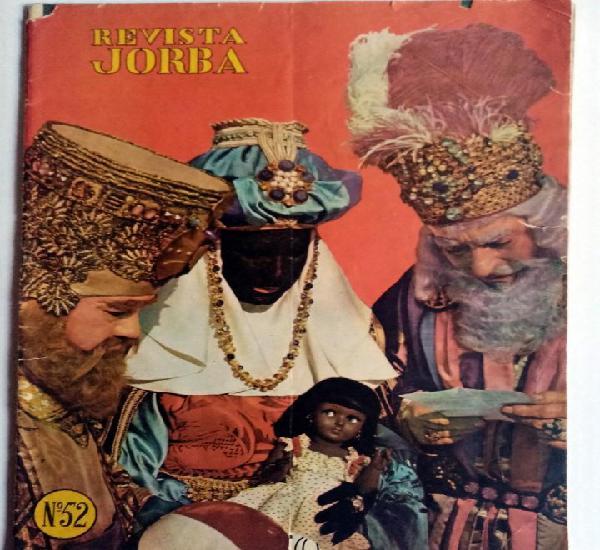 Revista de navidad almacenes jorba 1959 - muñecas, payá,