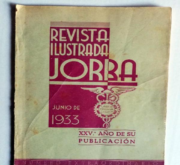 Revista librito de almacenes jorba junio 1933 - con