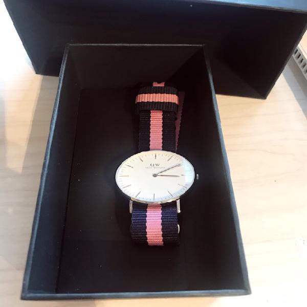 Reloj daniel wellington auténtico