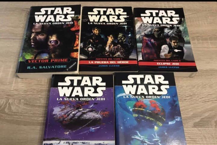 Star wars libros lote descatalogados y dificiles de