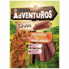 Snacks purina adventuros sticks con aroma a búfalo