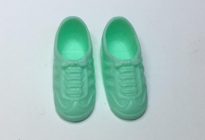 Zapatos verdes muñeca chabel