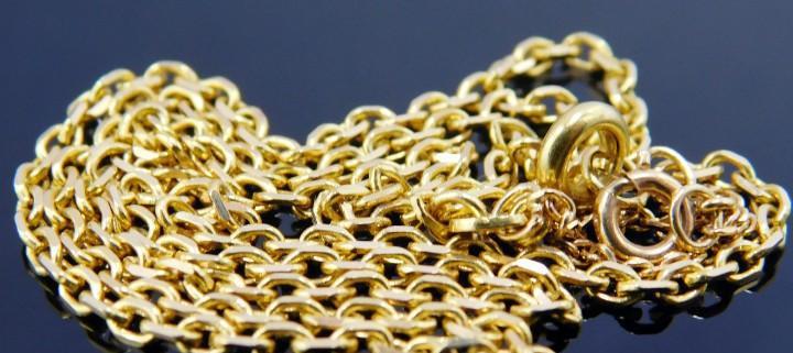 Magnifico collar de joyería en oro ley 18 quilates - bella