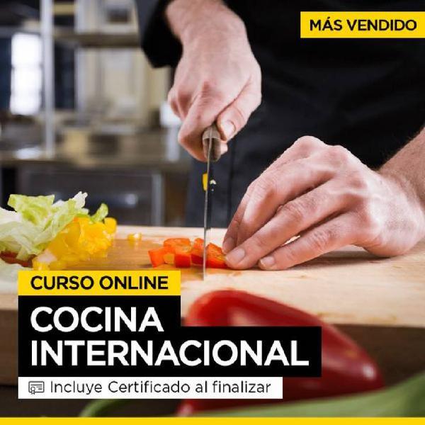 Curso cocina internacional