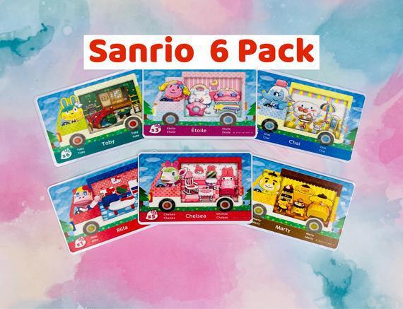 Animal crossing sanrio pack amiibo tarjetas envío rápido!